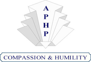 The APHP logo for the association for professional hypnosis and psychotherapy